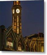 Lackawanna Clock Tower Metal Print
