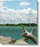 Lackawanna Wind Farm 5079 Metal Print