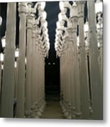 Lacma Lights 8 Metal Print