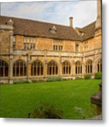 Lacock Abbey Cloisters 1 Metal Print