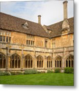 Lacock Abbey Cloisters 2 Metal Print