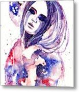 Lacrima Nebula  Metal Print by Alexandra-Emily Kokova