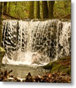 Lacy Waterfall Metal Print