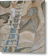 Ladder To The Past Metal Print