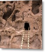 Ladder To The Ruin Metal Print