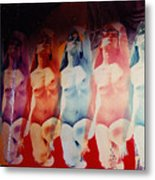 Ladies Room Metal Print