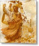 Lady Bonney Metal Print by Brian Kesinger