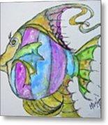 Lady Fish  Metal Print