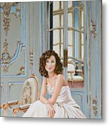 Lady In Waiting Metal Print