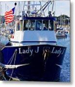 Lady J Metal Print