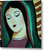 Lady Of Guadalupe Metal Print