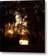 Lady Of The Lake Metal Print