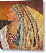 Lady Of The Mountains Metal Print