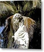 Lady Of The Palms Metal Print