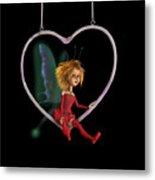 Laerinu The Love Fairy  Metal Print