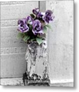 Lafayette No One Purple Roses Metal Print