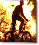 Lag Ba-omer The Bonfire Holiday Metal Print