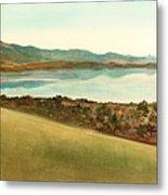 Lago Del Coghinas Metal Print