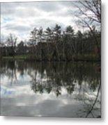Lagoon Reflection 1 Metal Print