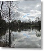 Lagoon Reflections 2 Metal Print