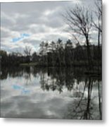 Lagoon Reflections 4 Metal Print