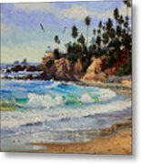 Laguna Beach  Metal Print by Gary Kim