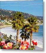 Laguna Beach Springtime Pano Metal Print
