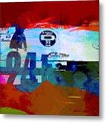Laguna Seca Racing Cars 1 Metal Print
