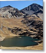 Laguna Thuni In Condoriri Mountains Metal Print