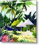 Lahaina Afternoon Metal Print