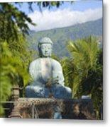 Lahaina Buddha At Jodo  Metal Print