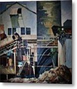 Lahaina Sugar Mill Metal Print