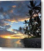 Lahaina Sunset Metal Print by James Roemmling