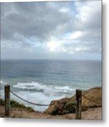 La Jolla Cliffs Metal Print