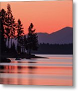 Lake Almanor Twilight Metal Print