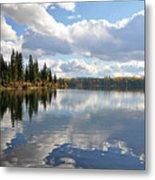 Lake And Clouds Metal Print