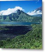 Lake Batur Metal Print