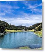 Lake Berressa Under Bridge Metal Print