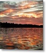 Lake Beulah Metal Print