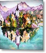 Lake Bled - Slovenia Metal Print