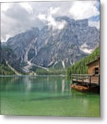 Lake Braies Metal Print