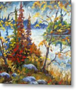 Lake Cartier Metal Print