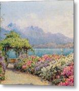 Lake Como From The Villa Carlotta Metal Print