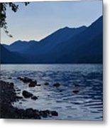 Lake Crescent Metal Print