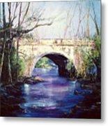 Lake District Bridge Metal Print