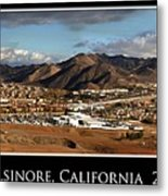 Lake Elsinore 2008 Metal Print