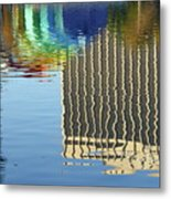 Lake Eola Reflections Metal Print