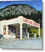 Lake Erie Grocery Metal Print by Perry Woodfin