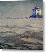 Lake Erie Lighthouse Metal Print