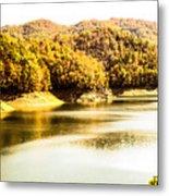 Lake Fantana In The Mountans Metal Print